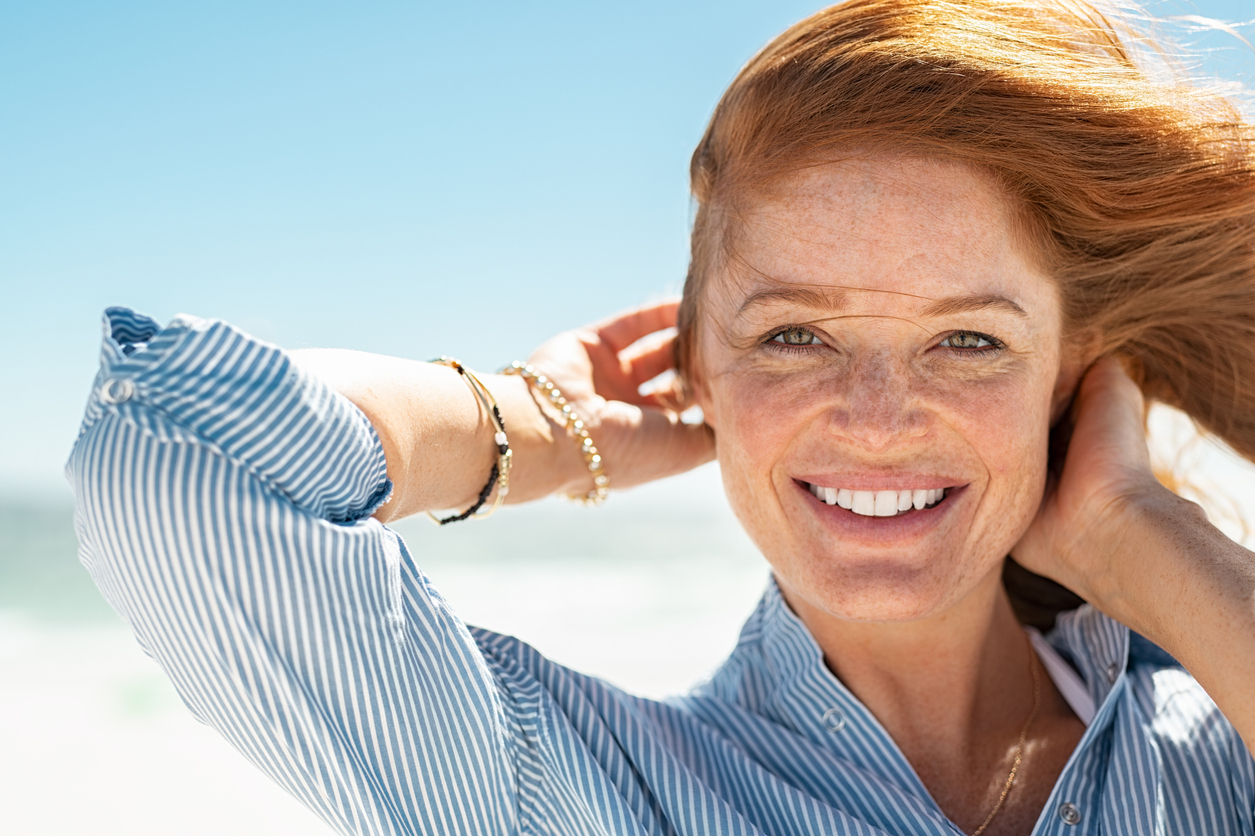 Natural Hemp Oil benefited redhead