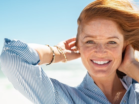 Natural Hemp Oil benefited redhead