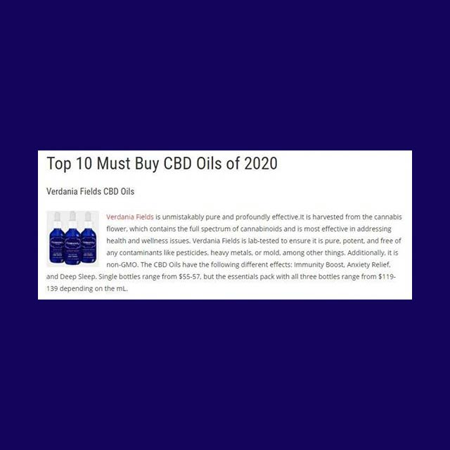 Top 10 Must Buy CBD Oils