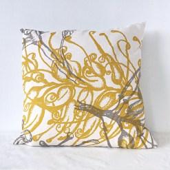 Grevillea Organic Cushion Mustard