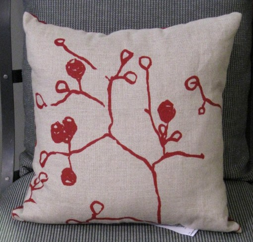 Fantails Berry Cushion