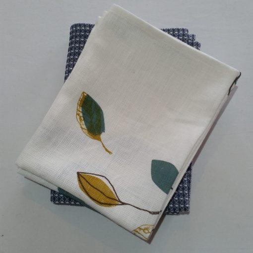 NZ Printed Linen Teatowels