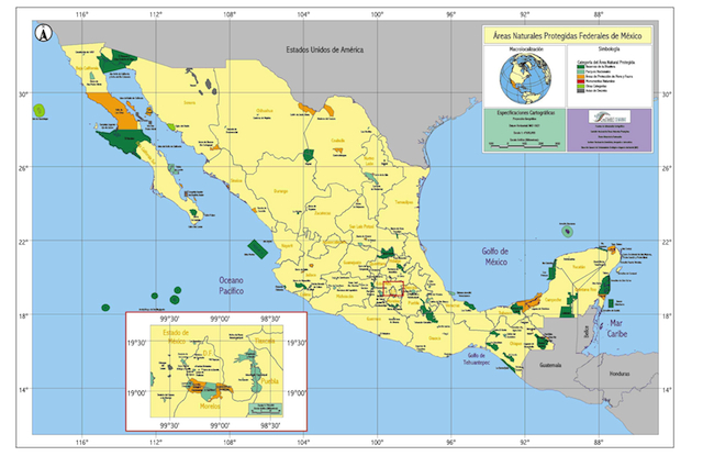 Áreas Protegidas México