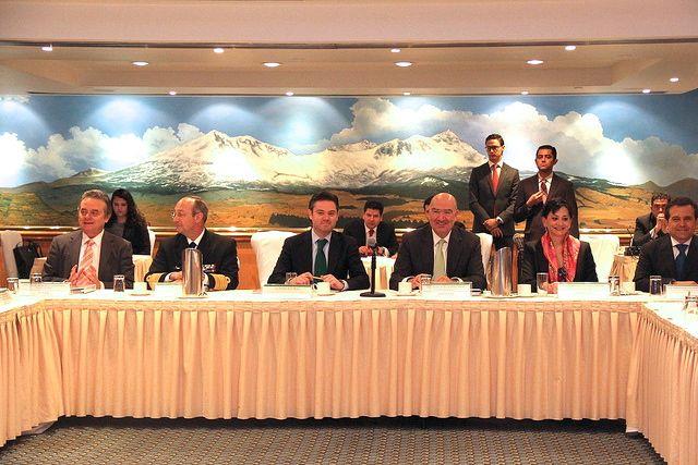 Comisión Intersecretarial de Cambio Climático. Imagen: Semarnat
