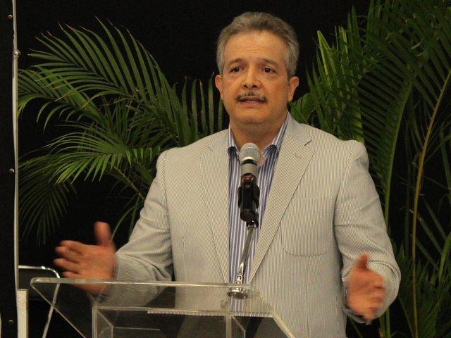 Raúl Antonio Iglesias Benítez en octubre de 2012. Imagen: Conagua