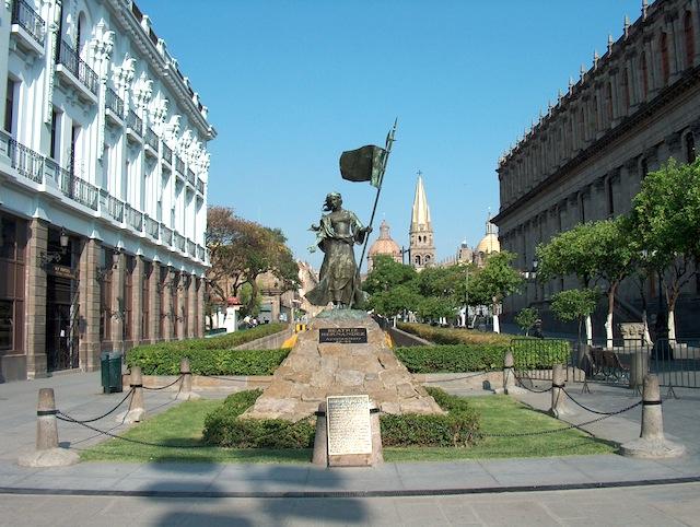 Plaza Fundadores. Imagen: Secretaría de Turismo Jalisco