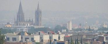 Una contingencia por mala calidad del aire en Guadalajara. Imagen: Semades