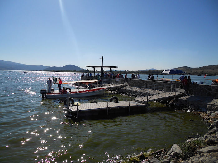 Laguna de Cajititlán. Foto: Mario Galindo