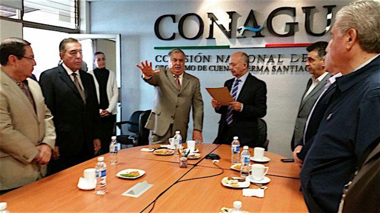 Toma de protesta de Jorge Malagón Díaz como director del Organismo de Cuenca Lerma Chapala Santiago. Foto: Conagua
