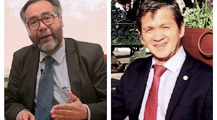 José Luis Lezama y Sergio Sánchez a Semarnat