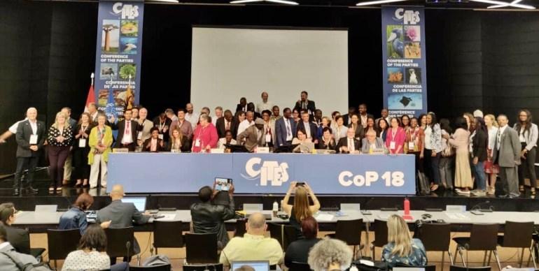 Reunión de CITES en Ginebra