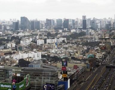 Banco Mundial/Franz Mahr Vista de la ciudad de Lima, la capital de Perú.