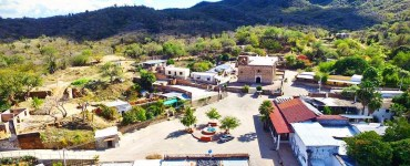 Comunidad La Aduana en Sierra de Álamos. Foto tomada del sitio de noticias Quid