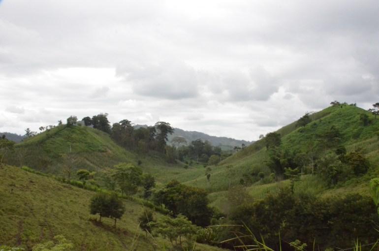 Laderas deforestadas en la Reserva de la Biosfera Bosawás. Imagen de Taran Volckhausen para Mongabay.