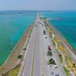 【沖縄絶景ドライブ】海中道路をファントムでドローン空撮Okinawa