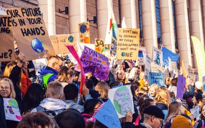 Nuoret vaativat Suomeen maailman vahvinta ilmastolakia