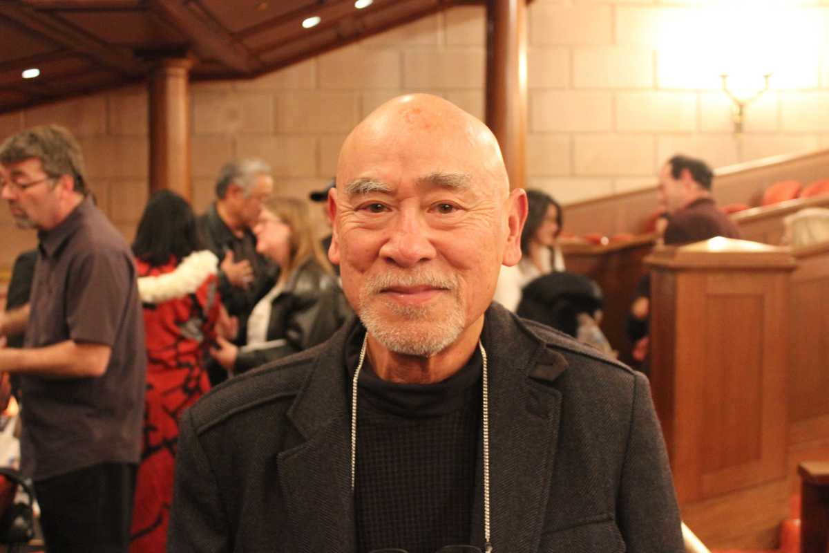 Hiroshi Shimizu at the Fred Korematsu Day celebration in San Fransisco. Photo by Gabriela Rossner.