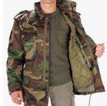 chaqueta parka verde militar hombre