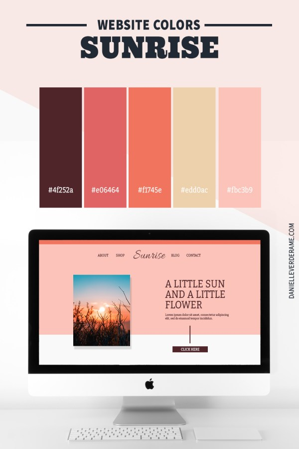 Color Combinations for Your Website Theme