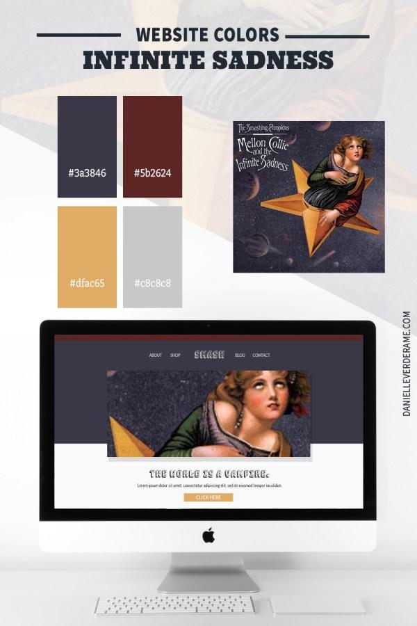 90s Website Colors