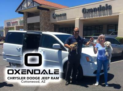 Thank you to Oxendale Chrysler Dodge Jeep Dealership for their generous support!