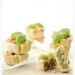 Quiche -Torta Salata ai Piselli e Carciofi