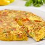 Frittata con Peperoni #Vegan …Senza Uova!