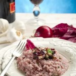 1 Risotto Radicchio e Gorgonzola
