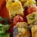 Spiedini di Tofu impanati