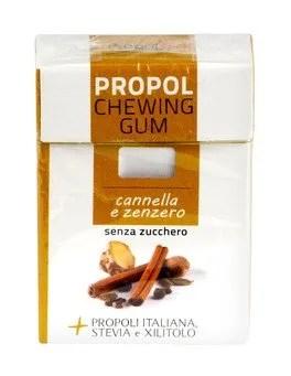 Chewing Gum con Propoli e Stevia - Cannella e Zenzero