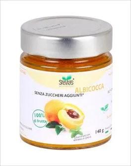 Confettura di Albicocca con Stevia