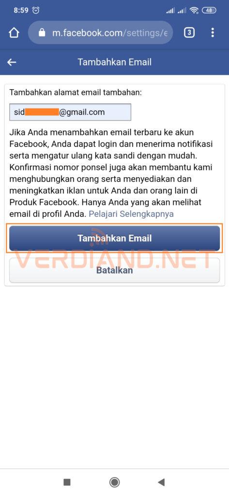 akun facebook