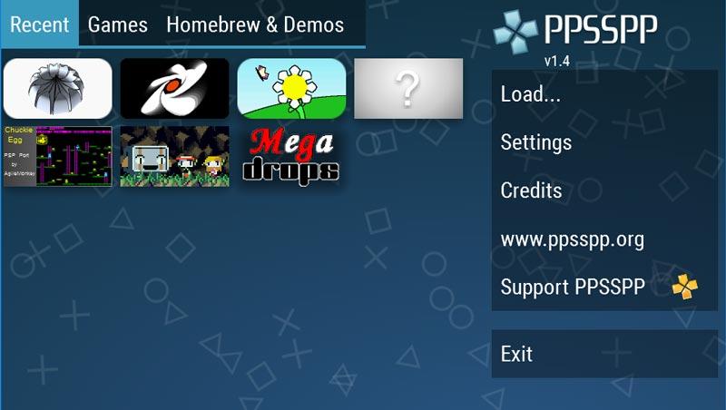Emulator PPSSPP