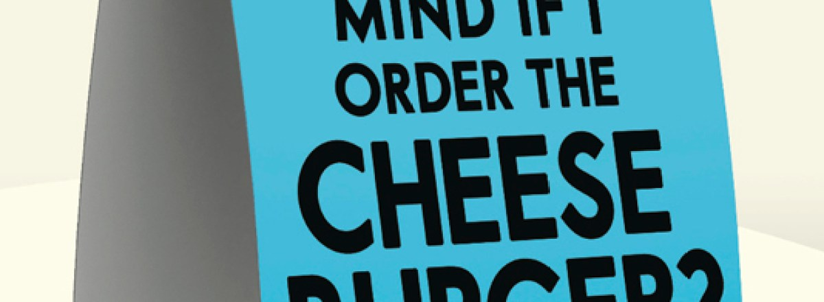 Review of <em>Mind If I order the Cheeseburger and Other Questions People Ask Vegans</em>