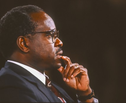 Clarence Thomas Speaks—And Arguably Contradicts His Longstanding Views