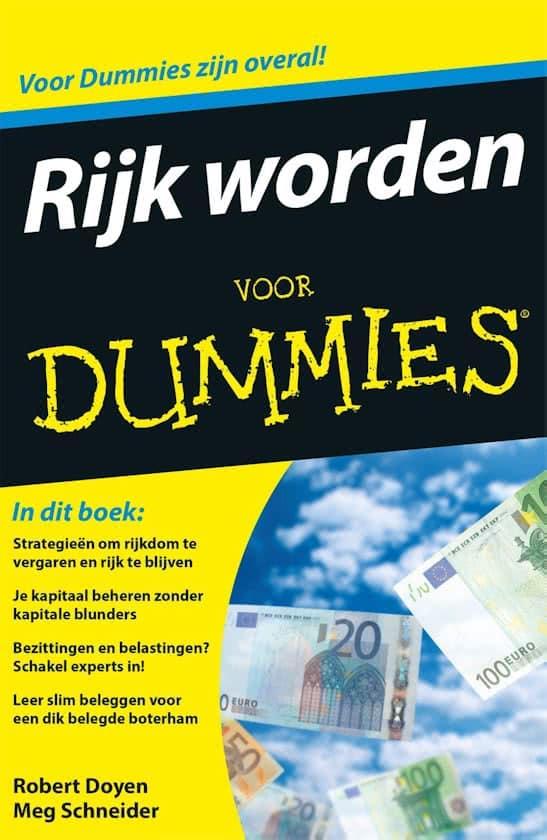 boek rijk worden voor dummies
