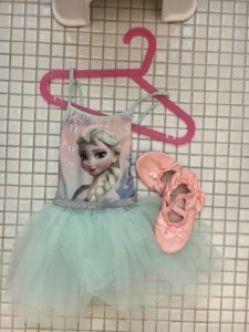 Dancing queen Elsa og danskesko