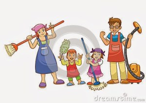 housework-illustration-family-cartoon-32128250