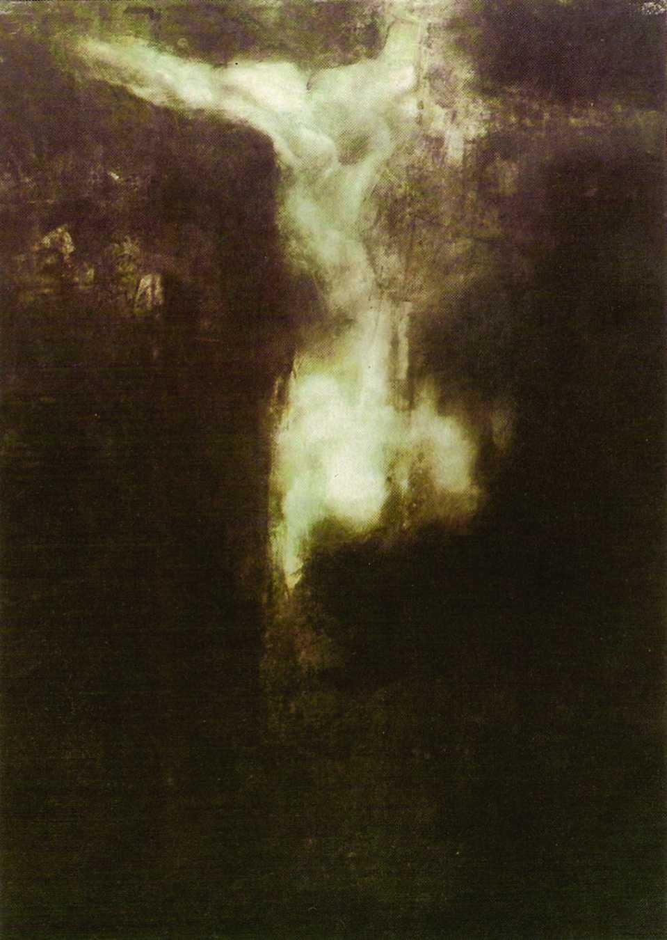 Cím nélkül, 1990, vegyes technika, 100x70 cm