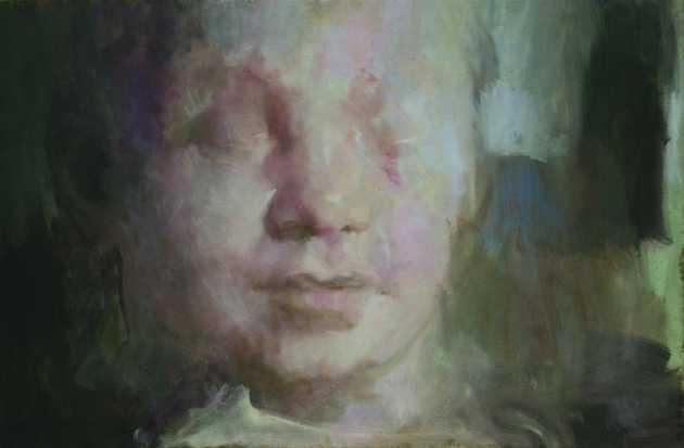 A várt, olaj, vászon, 80x120 cm, 2008