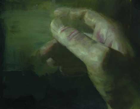 Hívás, olaj, farost, 100x125 cm, 2008
