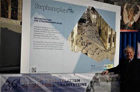 Beginn Pflasterarbeiten Wien Piaty 14.3.2017 Foto Porr