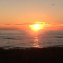 Sylt - Sonnenuntergang am Meer © VH