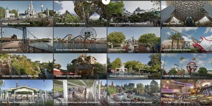 Disneyworld Florida virtueel