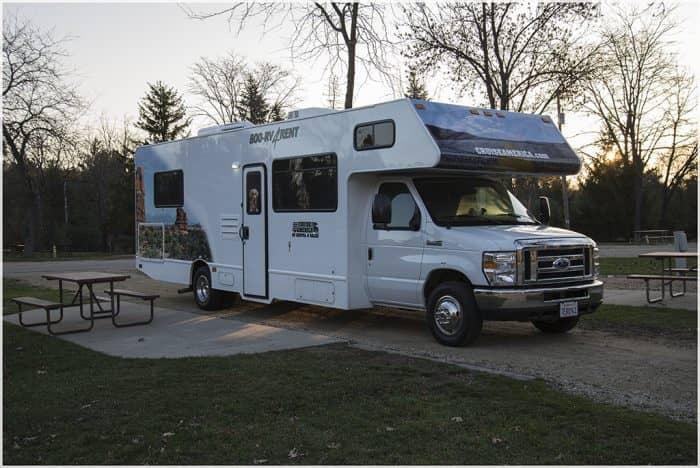 Een camper reis Amerika wegbrengspecial. Van de fabriek in Chicago naar de verhuurlocatie in Salt Lake city. Dwars door Amerika. Een goedkope optie?