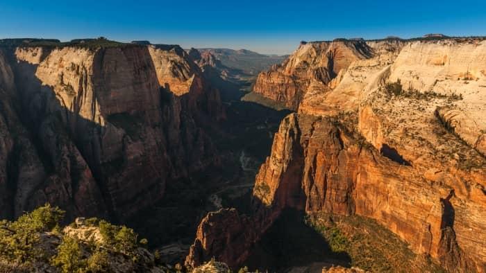 UTAH - Observation point, Zion National Park