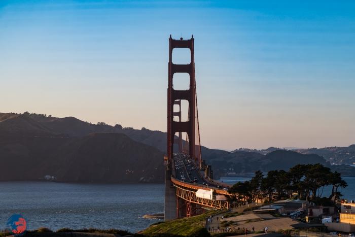 Parkeren Golden Gate Bridge - USA4ALL