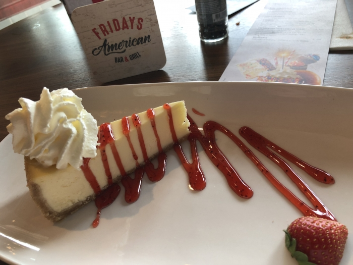 TGI Fridays Utrecht - Cheesecake