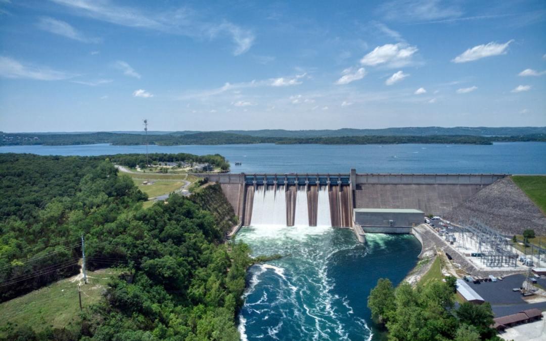 Table Rock Dam – Een krachtpatser!