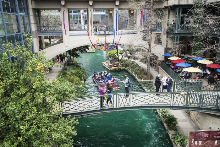 The River Walk – Trekpleister in San Antonio!